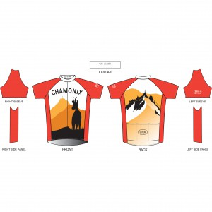 Zero G Chamonix Bike Jersey
