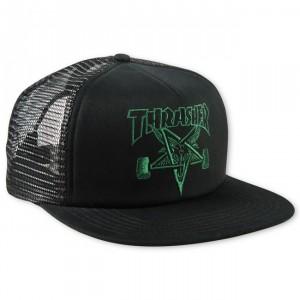 Thrasher Mesh Cap Sk8 Goat Emblem