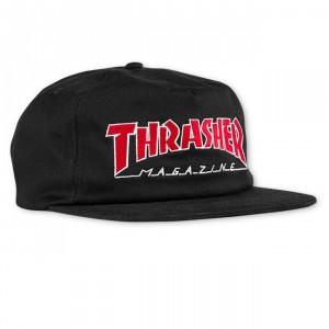 THRASHER19 OUTLINED SNAPBK CAP