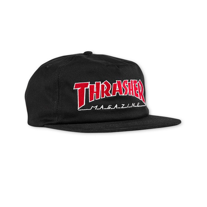 THRASHER19 OUTLINED SNAPBK CAP
