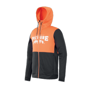 Baxter Zip Tech Hood Midlayer