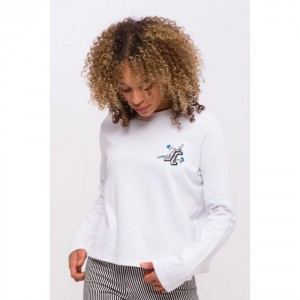 W Floral Dot Sweat