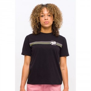 W Opus Dot Stripes Tee