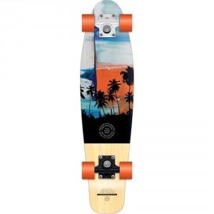 Retro Wood Cruiser Skateboard