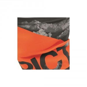 ORANGE LOGO NECKWARMER