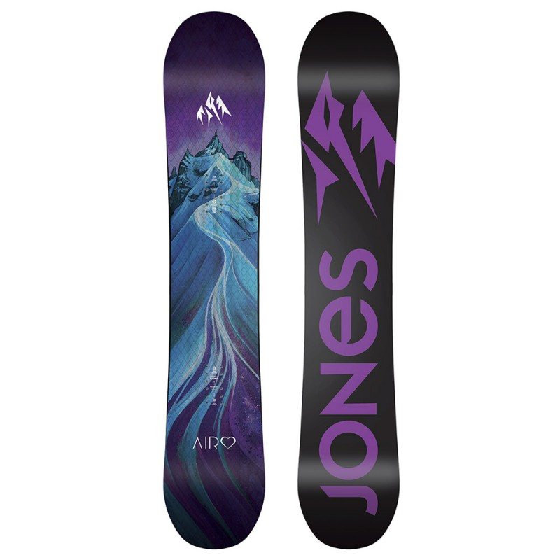 jones snowboard airheart