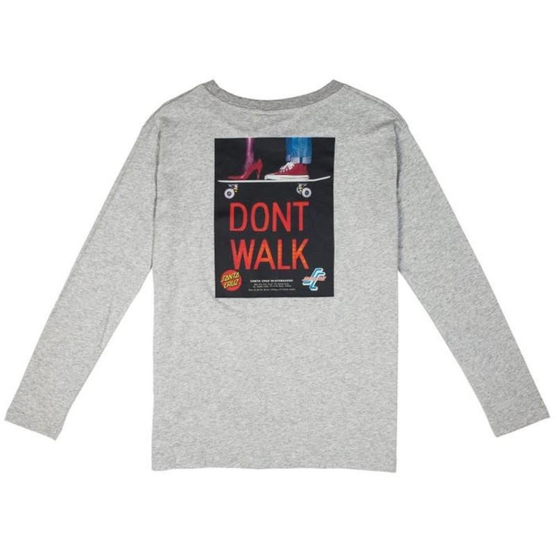 SANTA19 WMN DON'T WALK L/S TEE