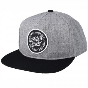 Ring Dot Snapback Cap