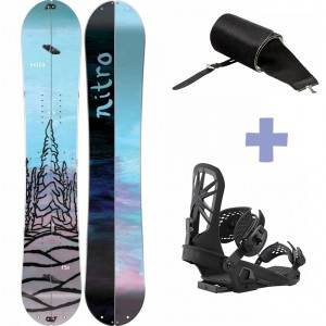 Pack Volta Splitboard +  Explorer Fixation + Peak Peau