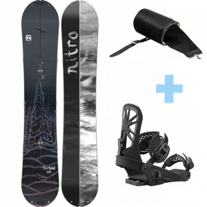 Pack Nomad Splitboard +  Explorer Binding + Peak Skin