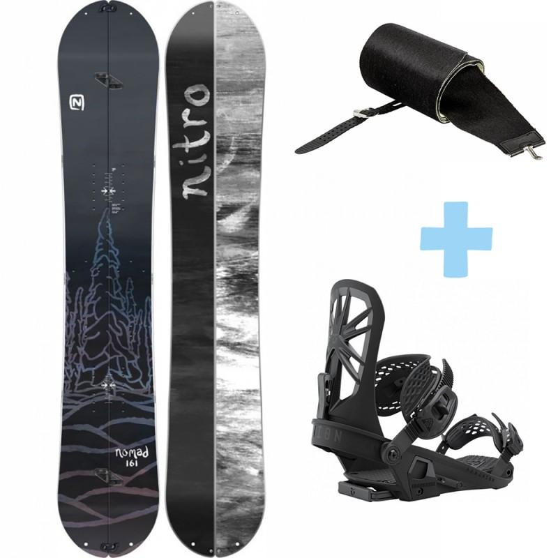 Pack Nomad Splitboard +  Explorer Binding + Peak Skin