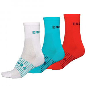 ENDURA WMN COOLMAXR 3PK SOCK