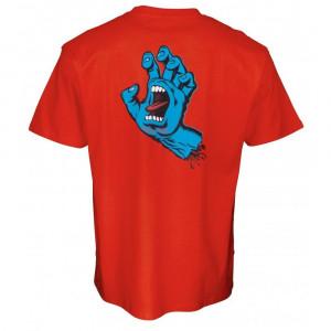 SANTA21 SCREAMING HAND CHEST TEE