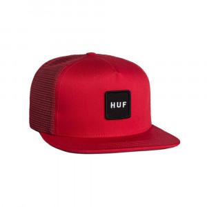 HUF21 CAP BOX LOGO TRUCKER