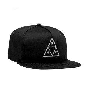 Unstructured Triple Triangle Snapback Hat