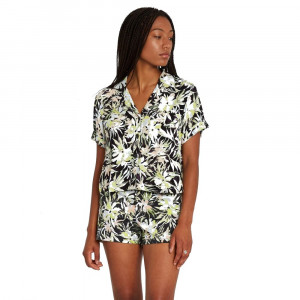 VOLCOM21S W SHIRT CANT BE TAMED SS