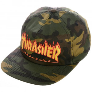 Flame Snapback Casquette