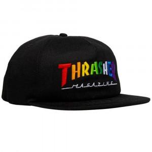 THRASHER CAP RAINBOW MAG SNAPBACK