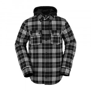 MENS FIELD INSULATED FLANNEL JACKET