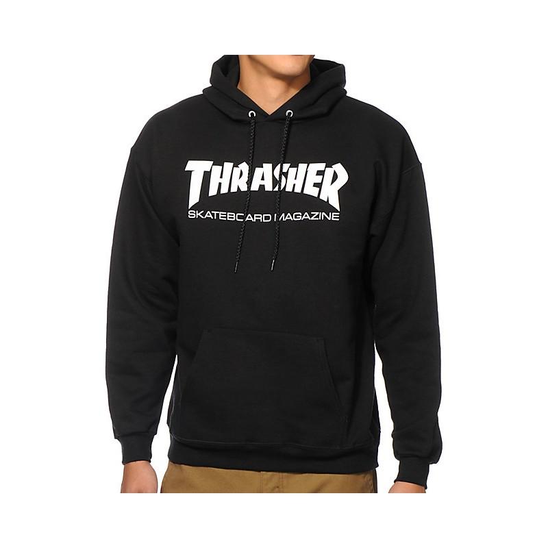 THRASHER HOODY SKATEMAG