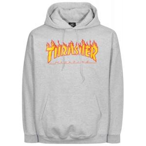 THRASHER HOODY FLAME LOGO
